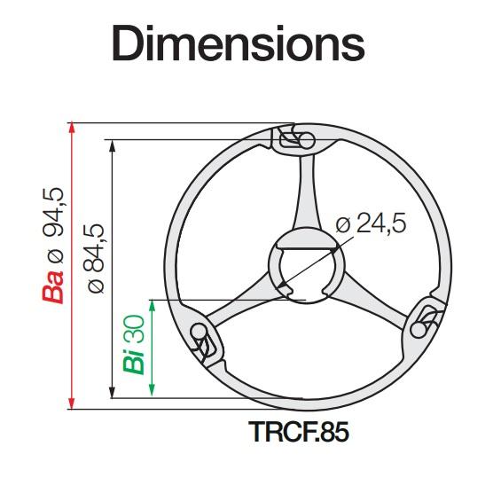 43813 igus echain triflex r series trcf851350 dimensions