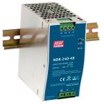 NDR-240-48 48VDC 240W DIN Rail PowerSupply
