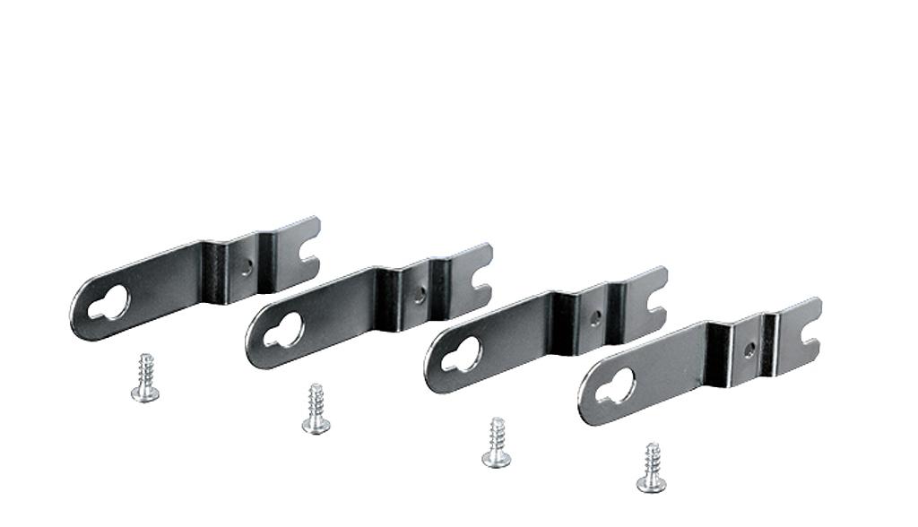 44431 fp al 40 set of 4 stainless steel external brackets