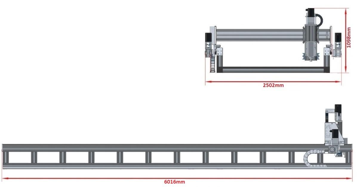 44451 dcnc router kit 5700x1790x200