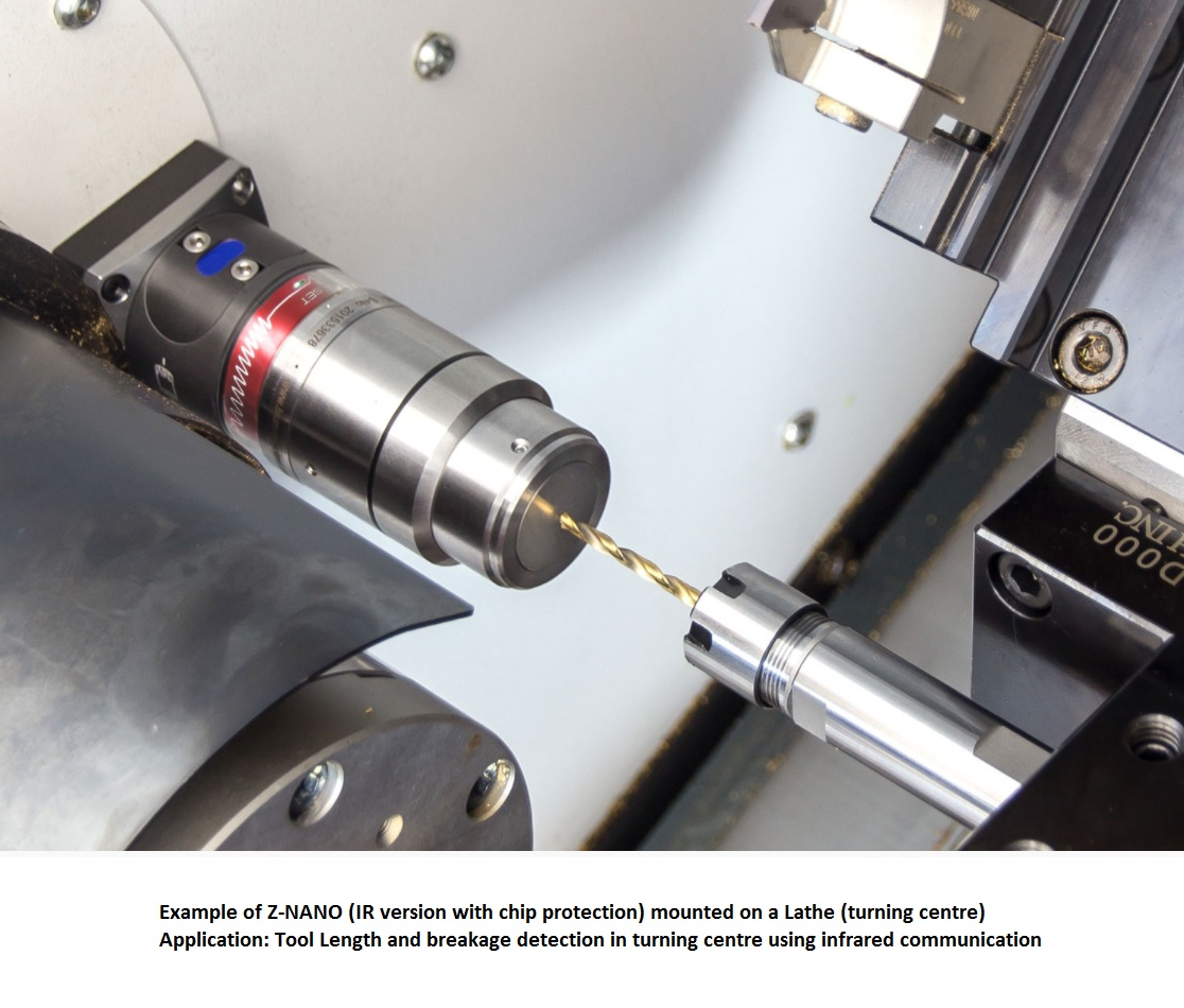 44747 znano ir mounted on lathe example