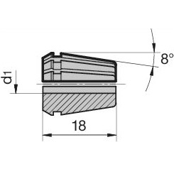 45612 regofix standard er 11 collet guhring 4307 dimensions