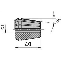 46102 regofix standard er 32 collet guhring 4307 dimensions