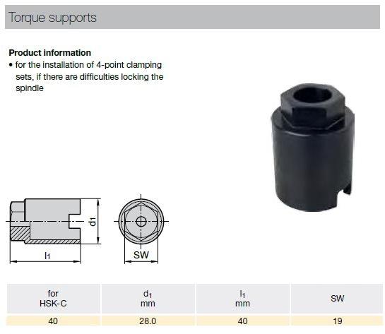 46311 guhring hsk40c clamping cartridge installation tool 4963