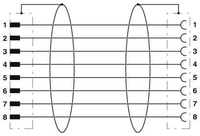 46414 m12 8 pole encoder cable l3000mm malefemale straight shielded schematic