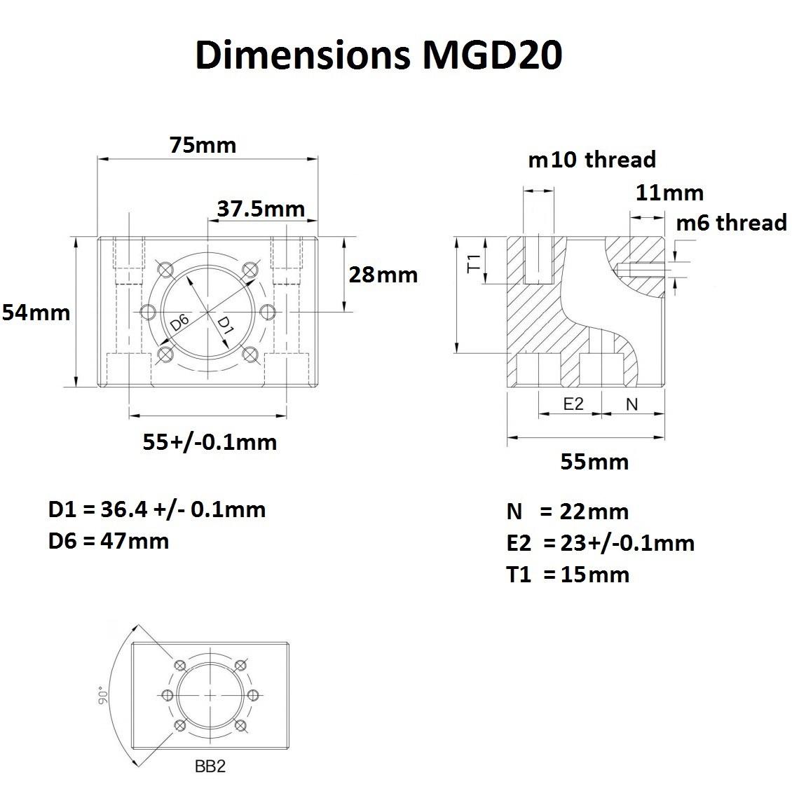 46982 mgd20 dimensions