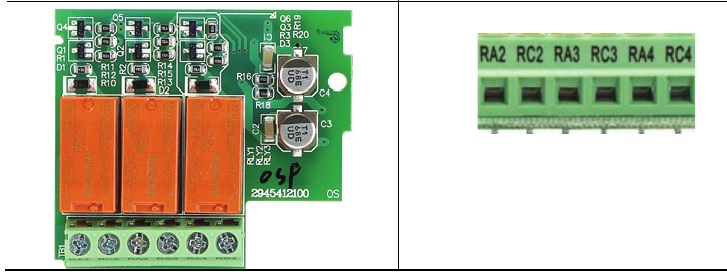 47073 delta 3xrelay card for the vfde emer3aa pin numbering