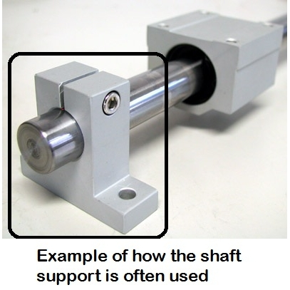 47444 sk30 shaft supports 30mm dimensions example of mounting