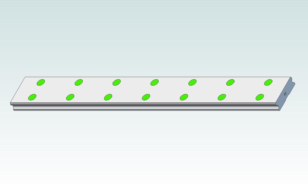 47491 hiwin profile rails wer17r280h