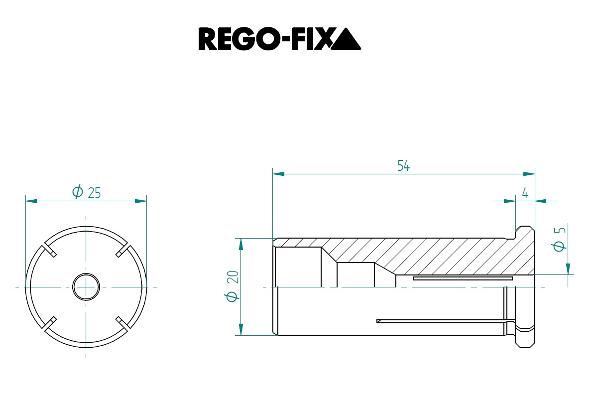 47668 hs 20 50mm reduction sleeve dimensions
