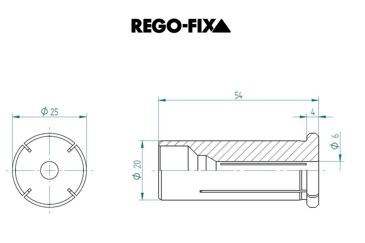 47678 hs 20 60mm reduction sleeve dimensions