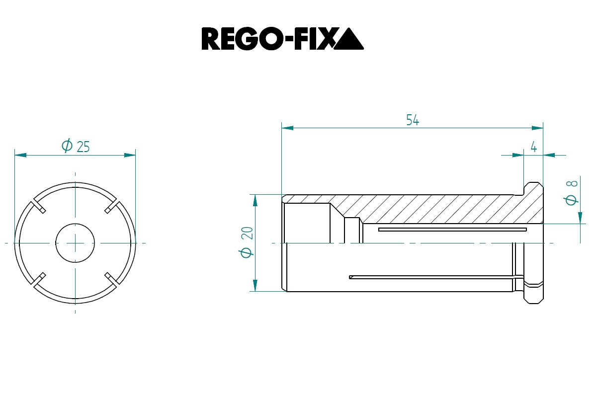 47698 hs 20 80mm reduction sleeve dimensions