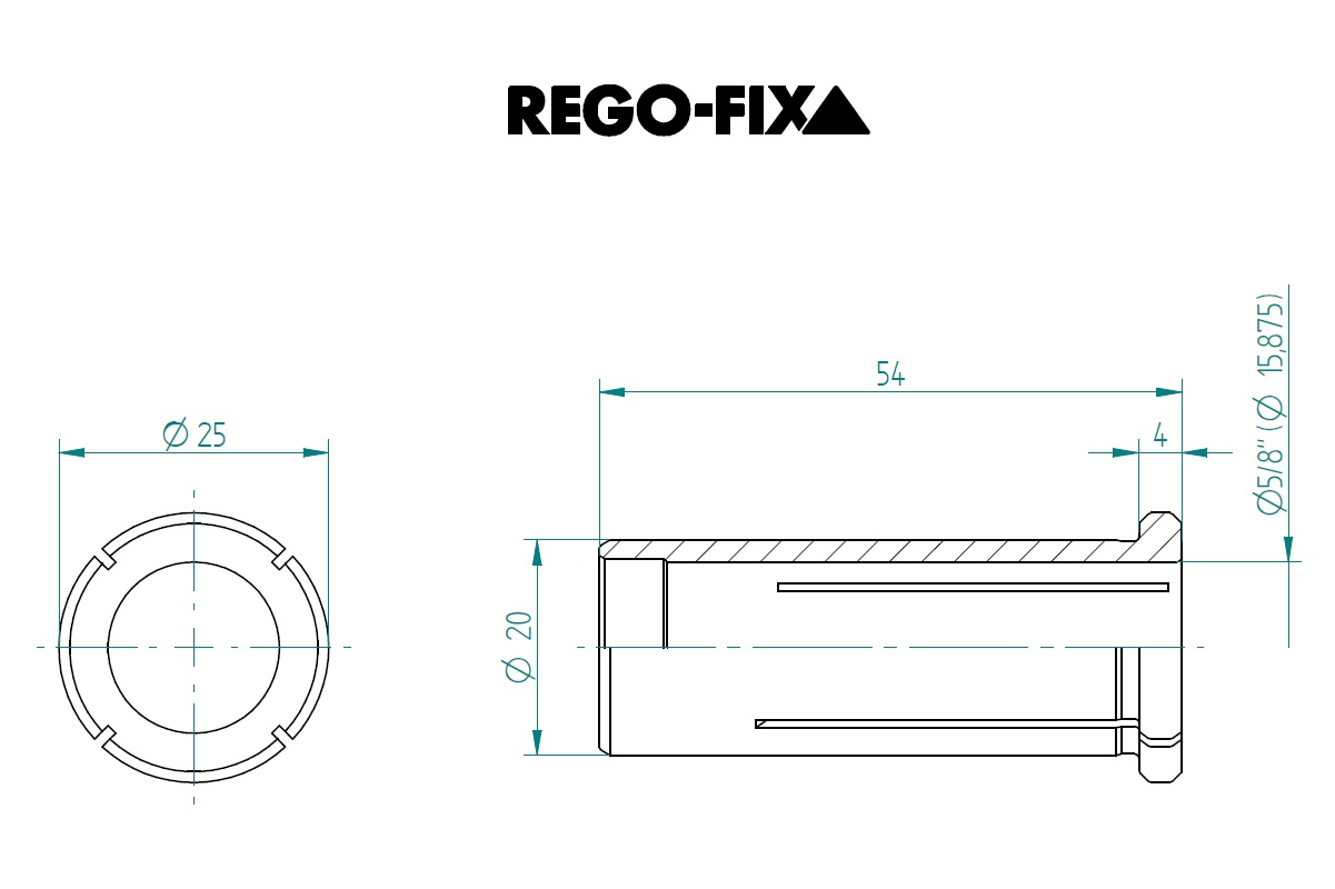 47878 hs 20 58 15875mm reduction sleeve dimensions