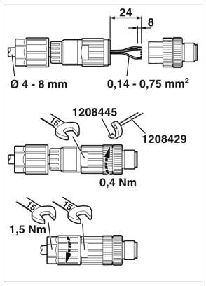 47964 m12 4pole straight male connector 1424657 assembly instructions