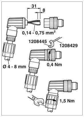 47985 m12 4pole angle male connector 1424654 assembly instructions