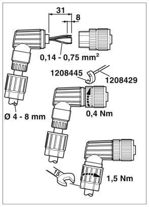 47995 m12 4pole angle female connector 1424656 dimensions