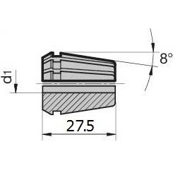 48312 regofix standard er 16 collet dimensions