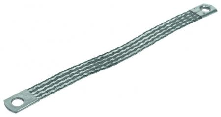 48802 earthing strap m8 25mm x 200mm 2412225