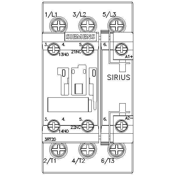 48862 siemens contactor ac3 185kw400v new type 3rt20281bb40 screw type dimensions