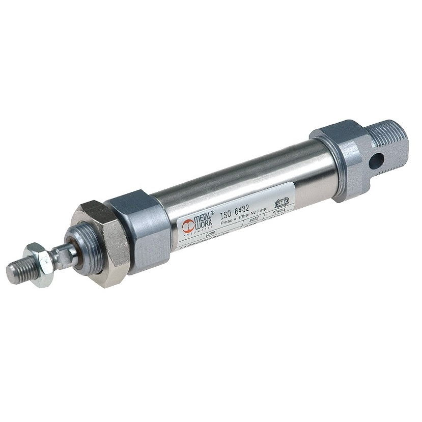 49021 113 016 0050cp 16mm 50mm stroke iso6432 std pneumatic cilinder