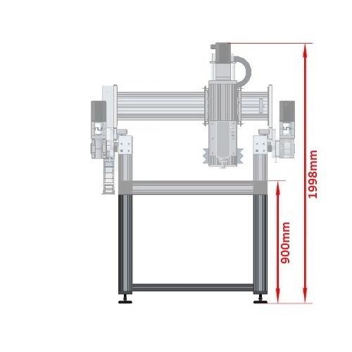 49272 dcnc table frame 680x790mm