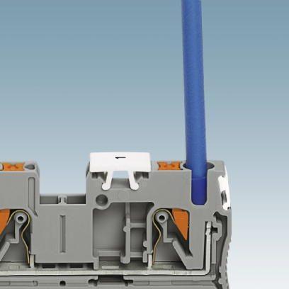 49475 feedthrough terminal pt 25 3212329 orange