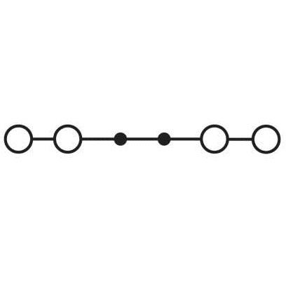 49482 feedthrough terminal pt 25quattro 3214424 black schematic