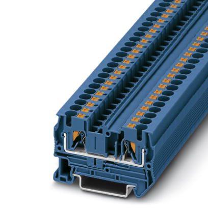 49521 feedthrough terminal pt 4 3211760 blue
