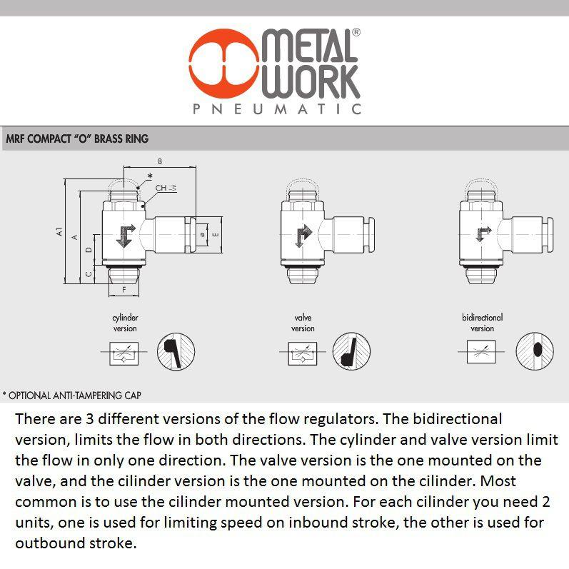 49762 9001111v 4x18 valve mrf o brass flow regulator m