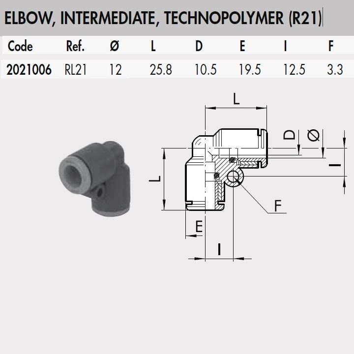 49902 2021006 rl21 12 mm elbow intermediate connector plastic rl21 dimensions