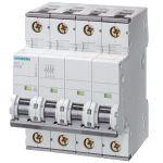 4Amp 3P+N Circuit Breaker Siemens 5SY4604-7