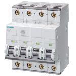 6Amp 3P+N Circuit Breaker Siemens 5SY4606-7