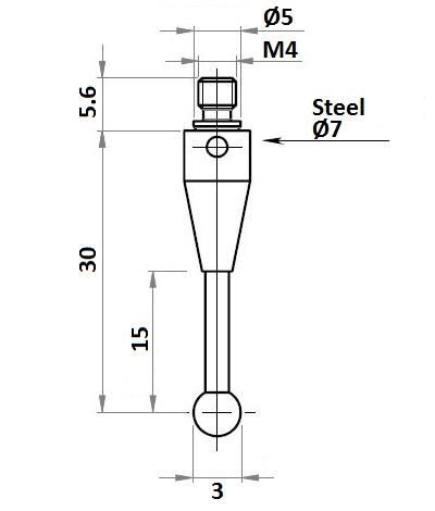 50372 blum stylus carbide for tc52 143777
