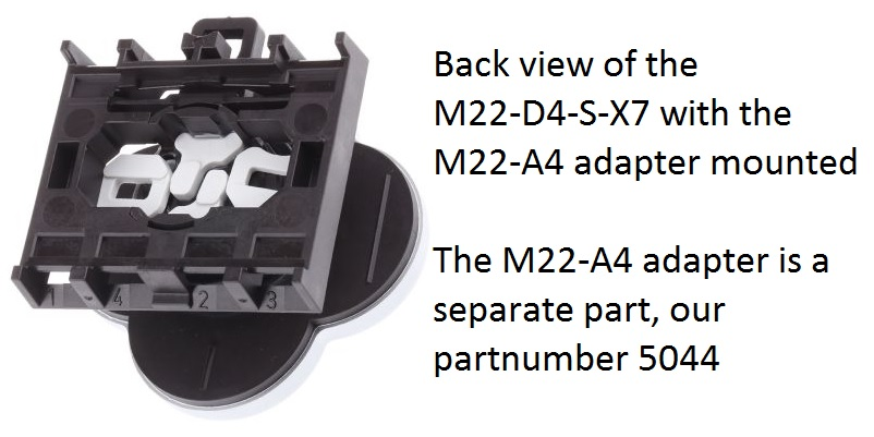50434 m22d4sx7 4way pushbutton blackwhite arrows22mmmomentary286336 example