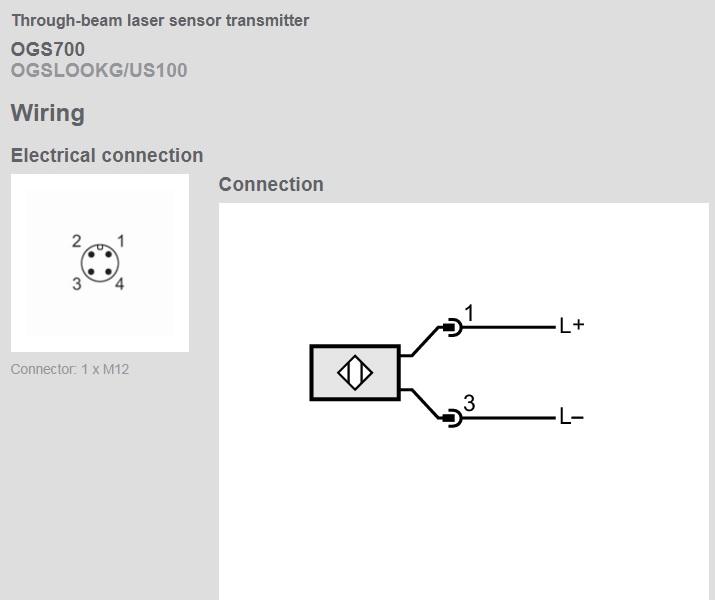 50633 ogs700 laser fotocel transmitter module laser pointer schematic