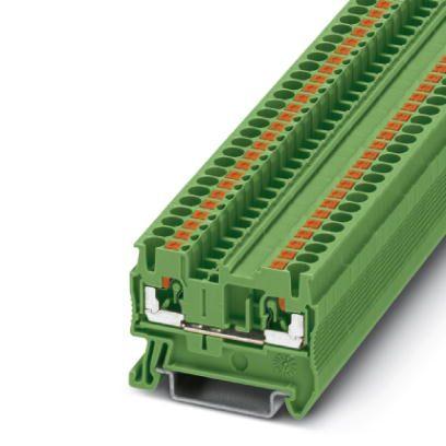 50981 feedthrough terminal pt 25 3209513 green