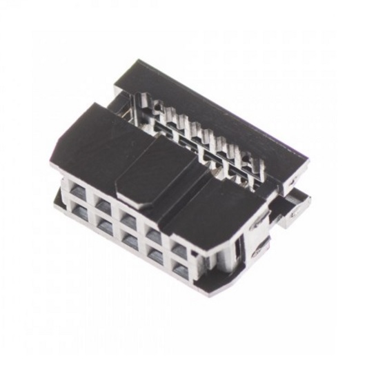 5101 10 pole ribbon female cable connector
