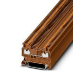 Feed-through terminal - PT 1,5/S - 1176488 (BROWN)