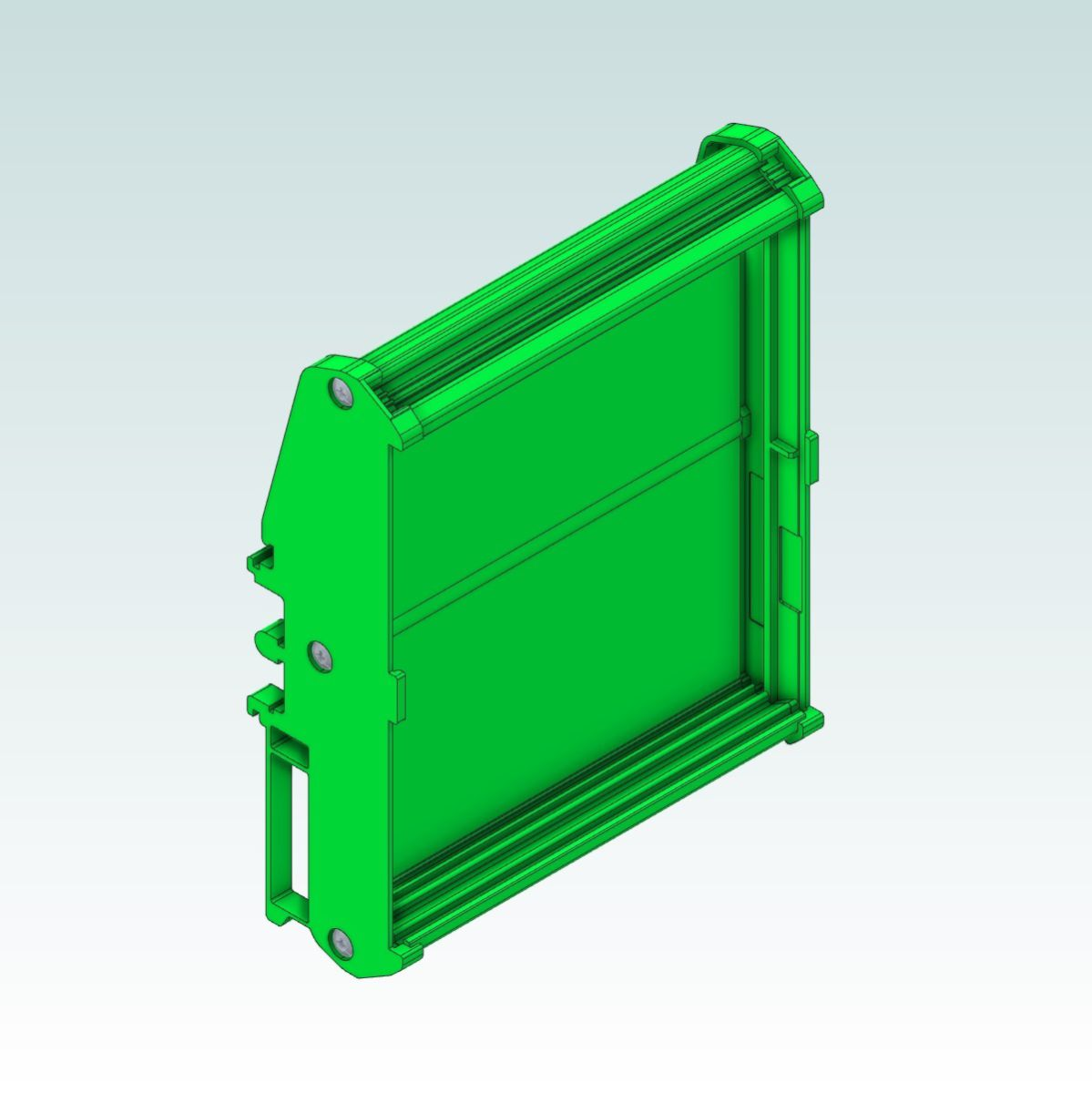 51511 cnc720 dinrail mount render