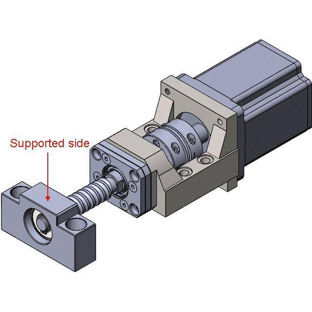 60x60 servo motor bracket mba10d for fk10