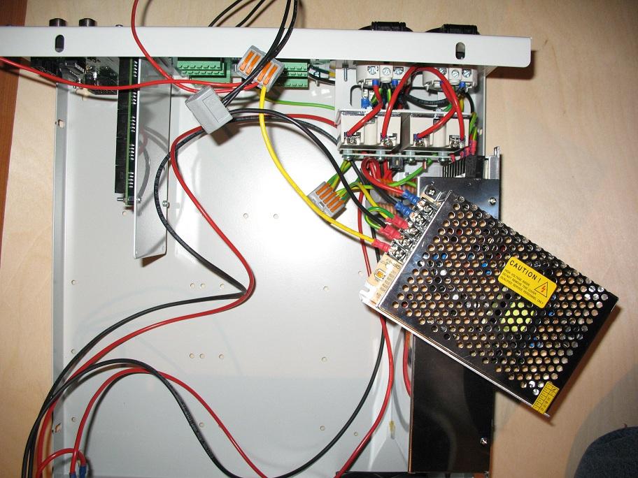 651 rtr mounting 12 or 24v powersupply