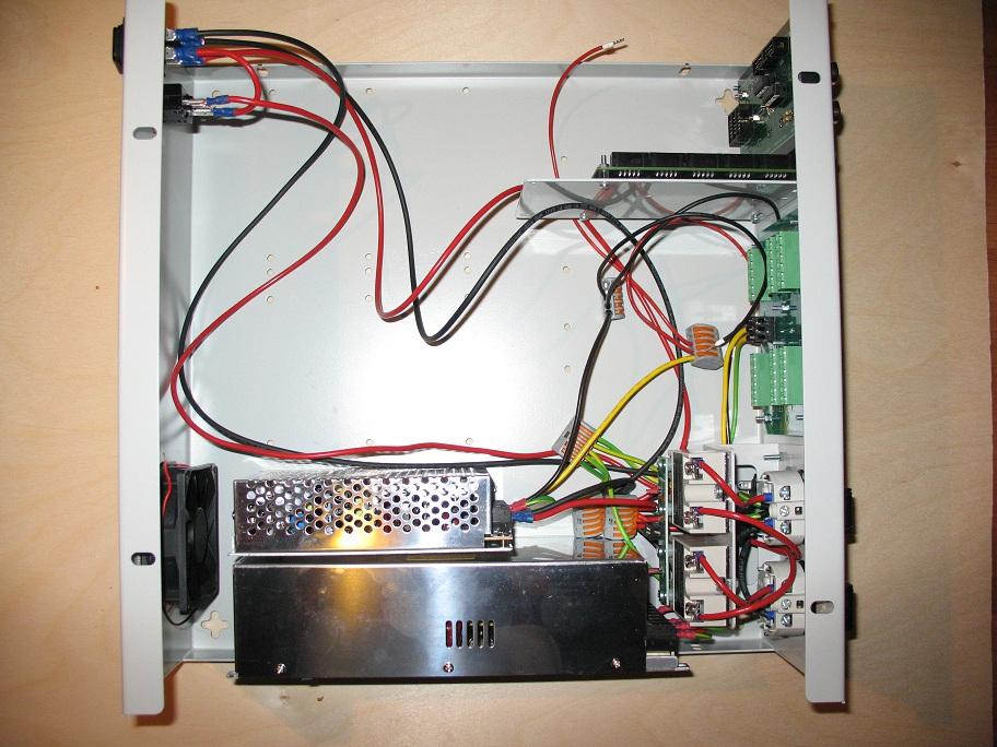651 rtr powersupplies mounted