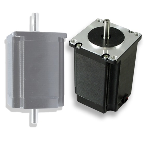 6731 stepper motor dcncnema2320nm double shaft overview