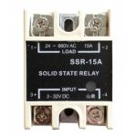 Solid State Relay with LED Single Phase SSR-15A