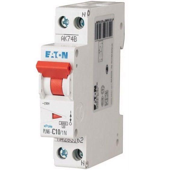6amp 1pn circuit breaker eaton moeller