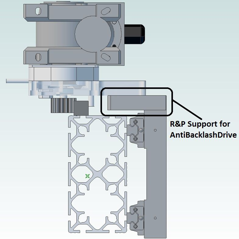 80x160l rp drive support xl