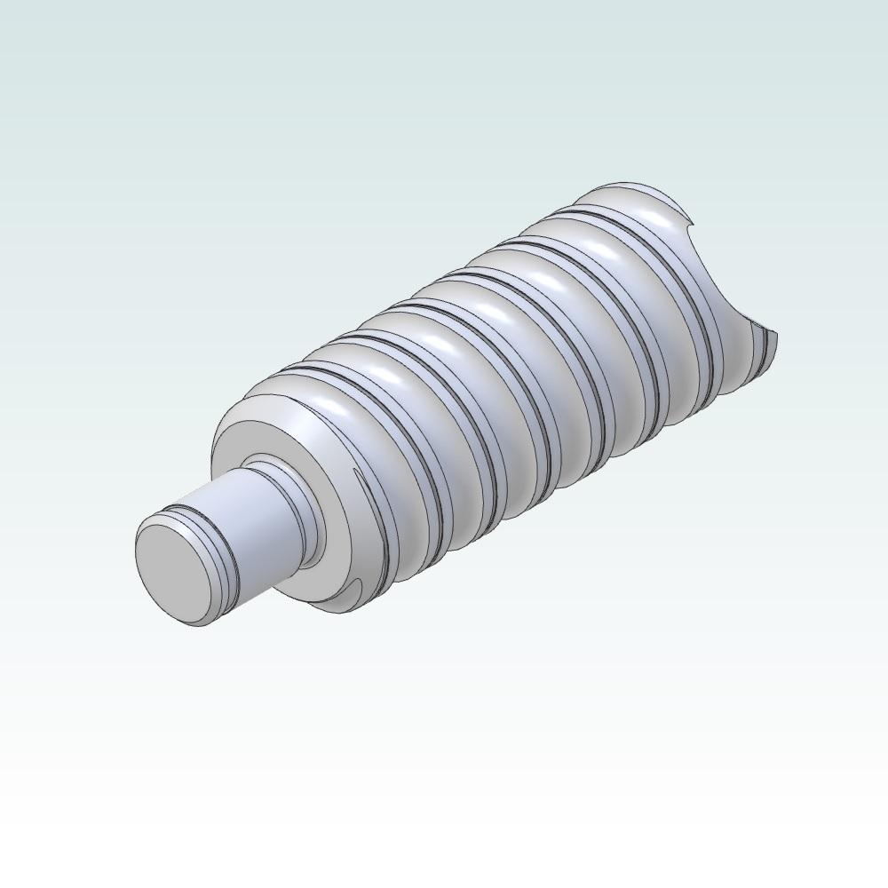 82101 bfff 10 ballscrew end machining floating side