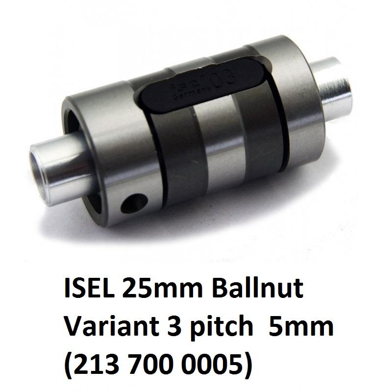 8391 isel 25mm ballnut variant 3 pitch 5mm 213 700 0005