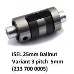 25mm Ballnut Variant 3 pitch 5mm (213 700 0005)