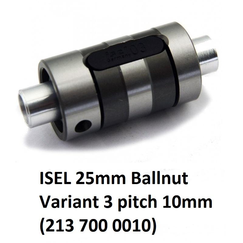 8401 isel 25mm ballnut variant 3 pitch 10mm 213 700 0010